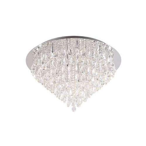 Maxlight corleone c0045 plafon lampa sufitowa 14x20w g4 chrom / kryształ (5903351003469)