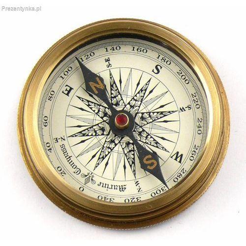 Kompas w skórzanym etui