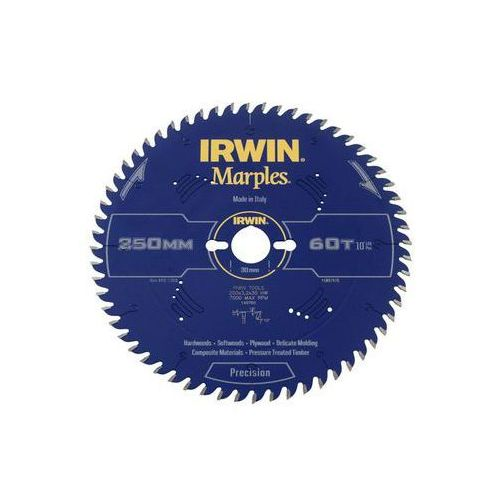 Irwin marples Tarcza do pilarki tarczowej 250mm/60t/30 śr. 250 mm 60 z