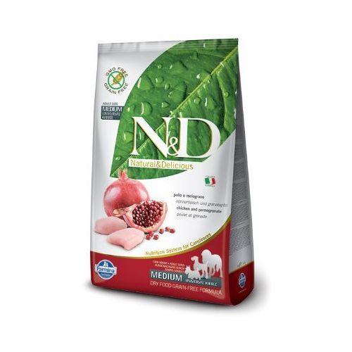 N&D GRAIN FREE ADULT MEDIUM CHICKEN&POMEGRANATE - FARMINA, 8010276020192
