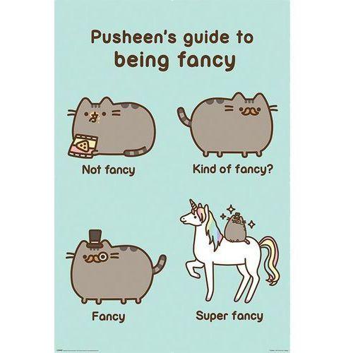 Galeria Pusheen super fancy - plakat