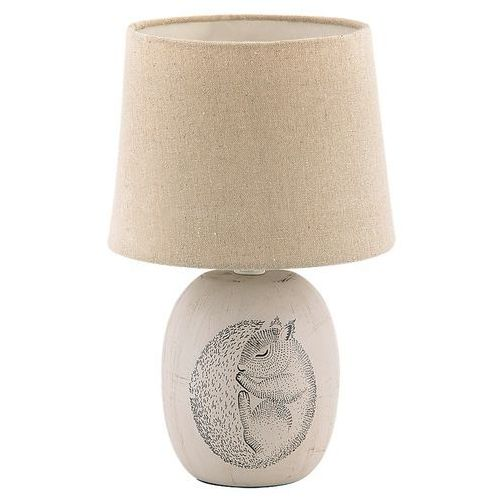 Lampa stołowa Rabalux Dorka 4605 lampka nocna 1x40W E14 kremowy (5998250346052)