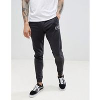 slim fit small logo sweat joggers in grey - grey marki Ea7