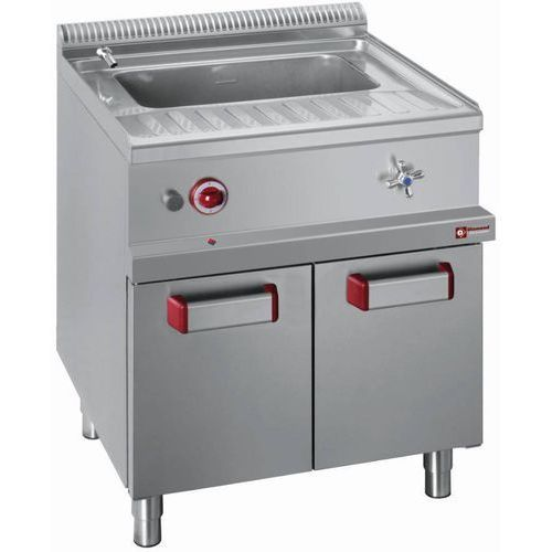 Diamond Urządzenie do gotowania makaronu 40l z szafką | gazowe | 13,3kw | 700x700x(h)850/920mm
