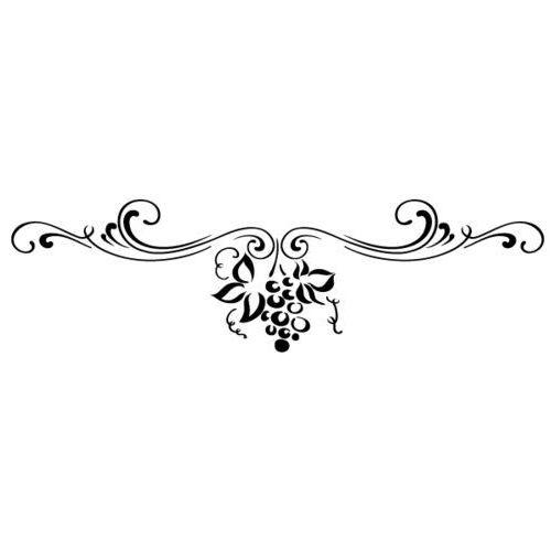Szablon malarski z tworzywa, wielorazowy, wzór flora 338 - Pod słońcem Toskanii