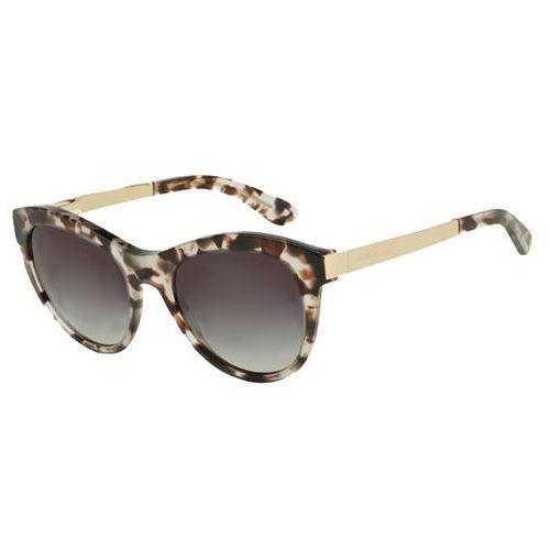 Okulary Słoneczne Dolce & Gabbana DG4243 Sicilian Taste 28888G, kolor żółty