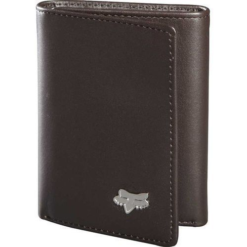 Portfel  - trifold leather wallet brown (081) rozmiar: os marki Fox