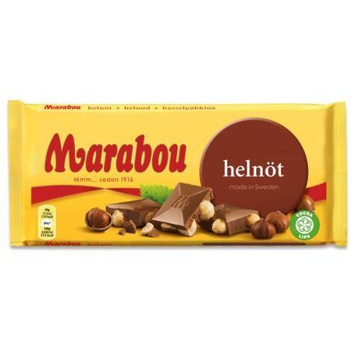 Marabou - Helnot - czekolada mleczna z całymi orzechami laskowymi - 200g - ze Szwecji