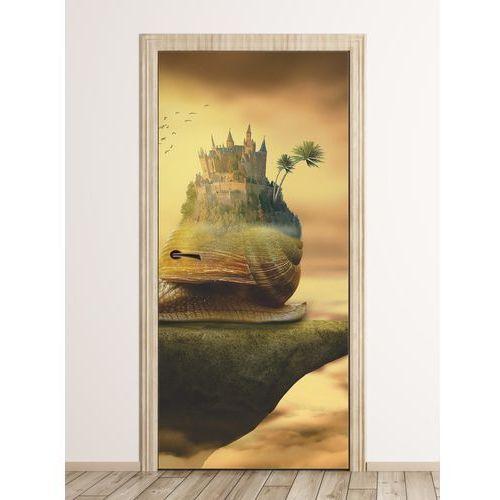 Wally - piękno dekoracji Fototapeta na drzwi dla dzieci ślimak fp 6262