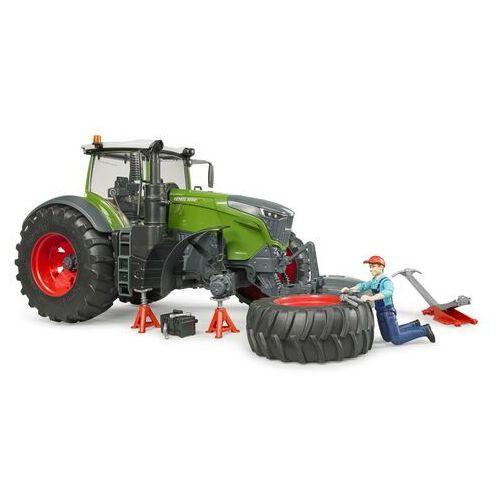 Pojazd traktor fendt 105 0 vario z figurką mechanika