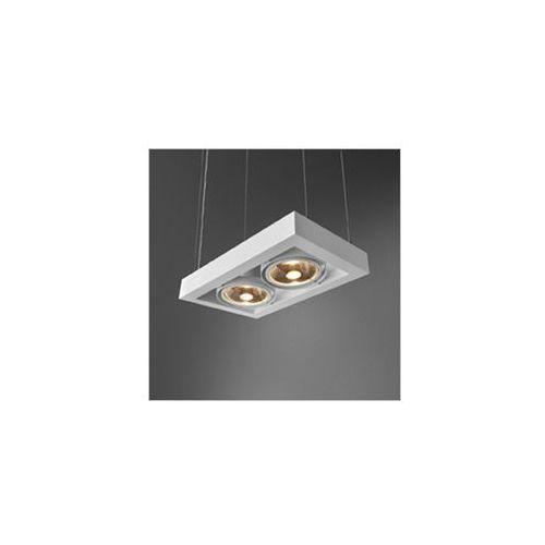 Cadra x2 230v zwis lampa wisząca 54712-02 czarna ** rabaty w sklepie ** marki Aquaform