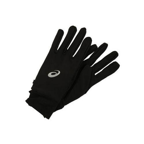 Asics performance pack rękawiczka gloves and beanie czarny s rękawice wyczynowe