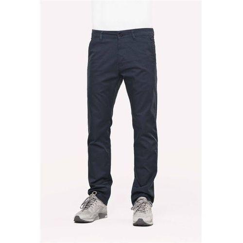 Spodnie - straight flex chino pc navy (pc navy) rozmiar: 32/32 marki Reell