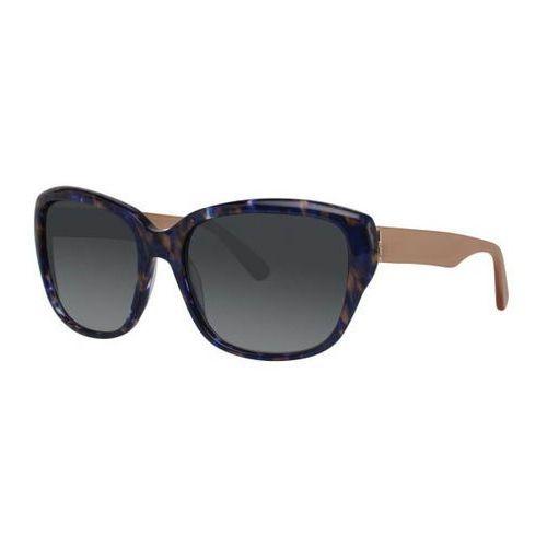Vera wang Okulary słoneczne v446 purple spot crunch