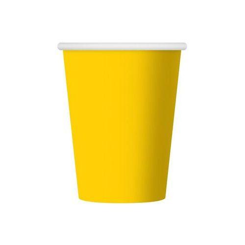 Party world Kubeczki papierowe party time, żółte 6 szt.
