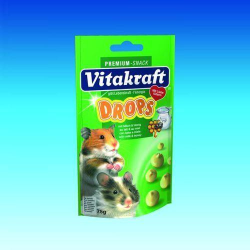 VITAKRAFT dropsy z miodem i mlekiem dla chomików