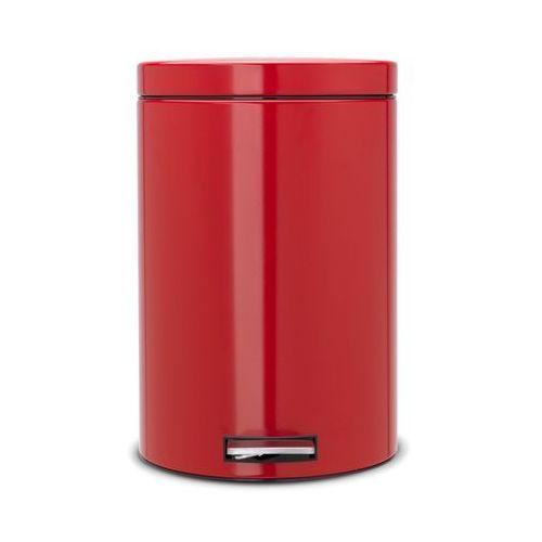 - kosz pedałowy classic - wiaderko plastikowe – 20l - czerwony passion marki Brabantia