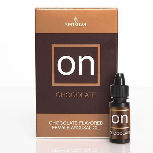 Sensuva Olejek stymulujący - on arousel oil for her czekoladowy