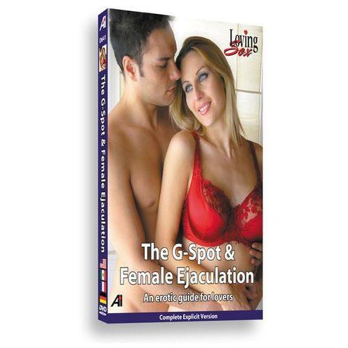 DVD edukacyjne - Alexander Institute The G-Spot & Female Ejaculation Educational DVD - Punkt G i kobiecy wytrysk