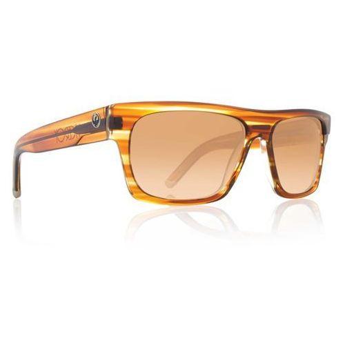 Dragon Okulary słoneczne - viceroy brown stripe/brnz grd (999) rozmiar: os