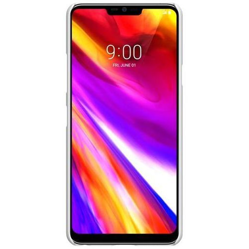Etui Nillkin Frosted Shield LG G7 ThinQ - White - White (6902048158467)
