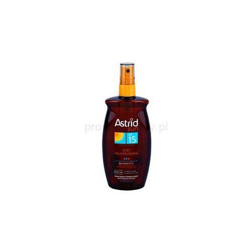 Astrid Sun olejek ochronny do opalania w sprayu SPF 15 + do każdego zamówienia upominek. z kategorii Kosmetyki do opalania