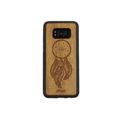 Samsung Galaxy S8 - etui na telefon Wood Case - Łapacz Snów - imbuia