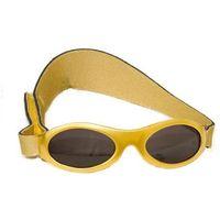 Okulary przeciwsłoneczne dzieci 2-5lat UV400 BANZ - Gold Metallic