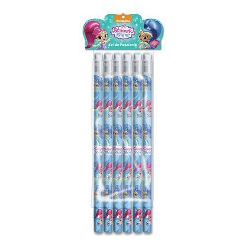 Zestaw ołówków – 6 szt. shimmer i shine marki Cyp brands
