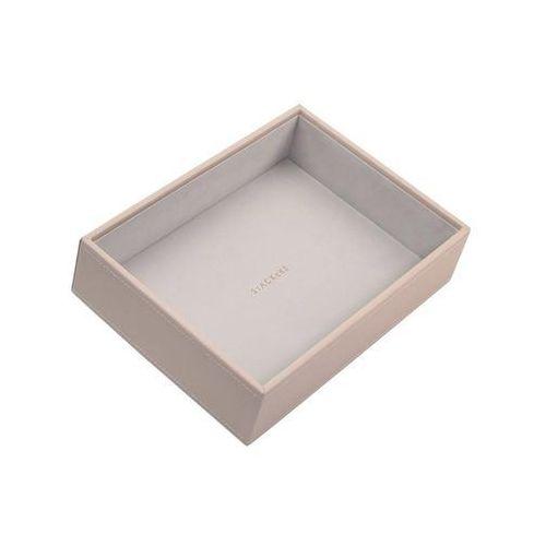 Stackers Pudełko na biżuterię open classic błękitno-szare