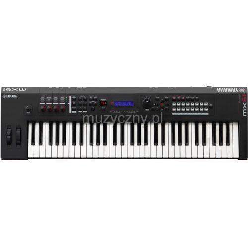 mx 61 ii black syntezator (czarny), marki Yamaha