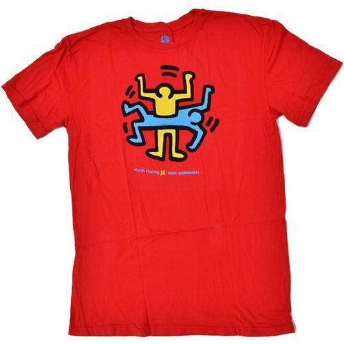 Koszulka - haring combi figure cervena (cervena) rozmiar: s marki Alien workshop