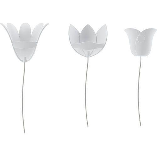 Dekoracja ścienna Bloomer biała