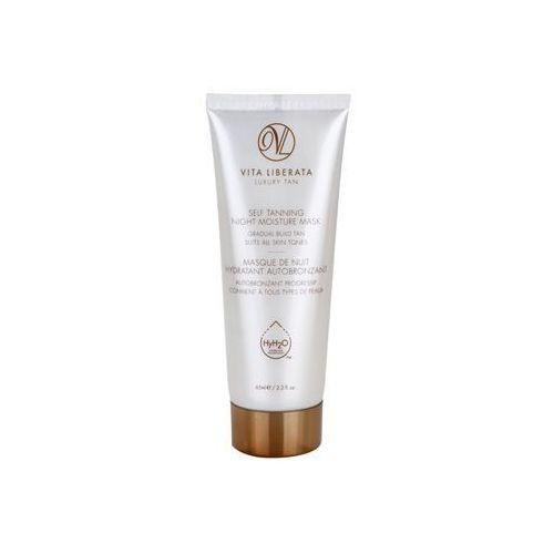 skin care samoopalająca maseczka nawilżająca na noc (luxury tan) 65 ml wyprodukowany przez Vita liberata