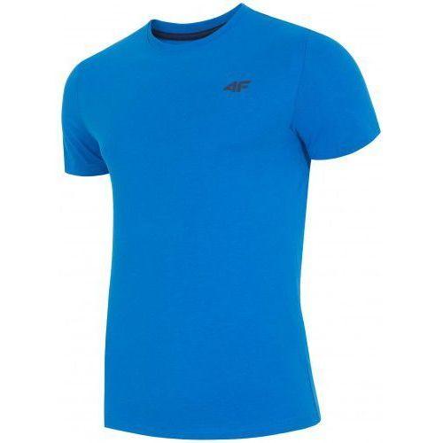 4f koszulka męska t-shirt l18 tsm002 niebieski r l