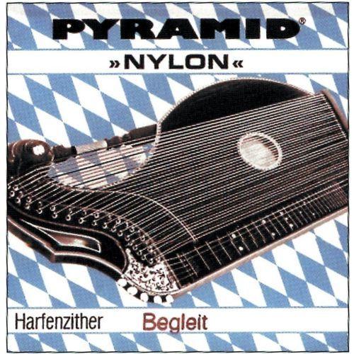 (663410) struna do cytry nylon. cytra o rezonansie harfowym/powietrznym - fis 10. marki Pyramid