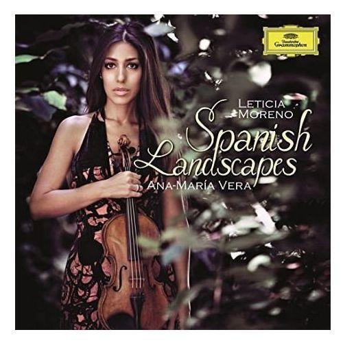 Spanish landscapes - leticia moreno (płyta cd) marki Deutsche grammophon