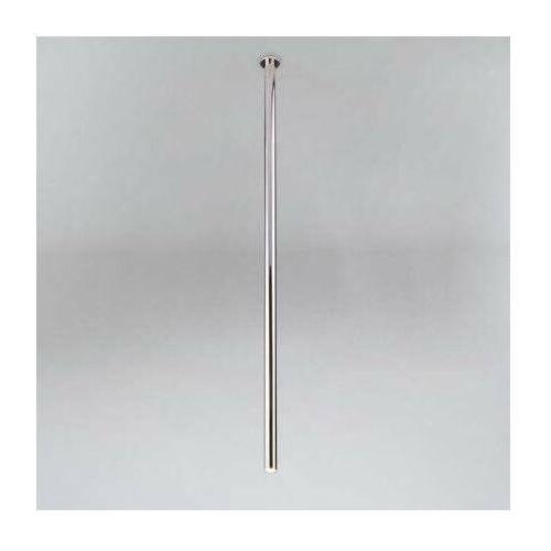 Wpuszczana lampa sufitowa alha t 9000/g9/1100/ch metalowa oprawa do zabudowy sopel tuba chrom marki Shilo