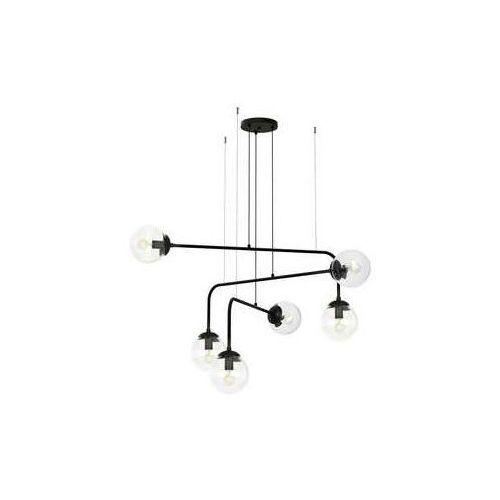 Luminex Vario 1374 lampa wisząca zwis klosz 6x60W E27 biały