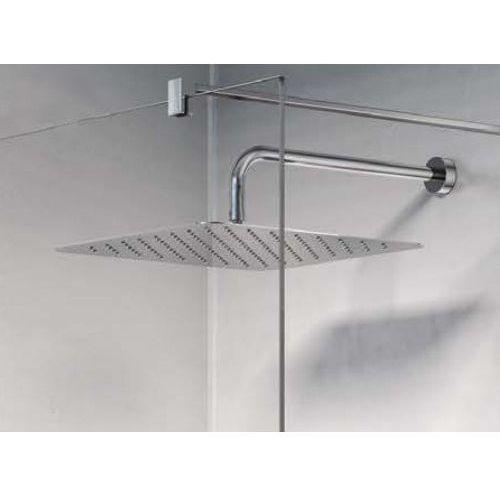 """Ideal Standard IdealRain LUXE Deszczownia kwadratowa 400mm, grubość 4mm, przyłącze 1/2"""" inox B0389MY"""