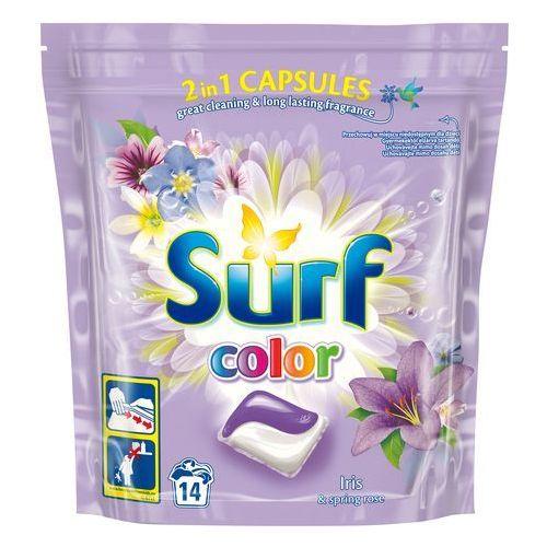 Surf Color Kapsułki do prania 2in1 Iris & Spring Rose 1op.-14szt (8710447192153)