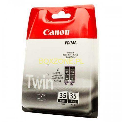 Canon oryginalny ink PGI35BK, black, 2x191s, 1509B012, 2szt, Canon Pixma iP100, ICAPGI35B2BG (6283023)
