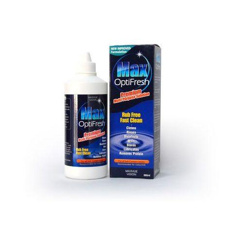 Płyn MaxOptiFresh 360 ml No Rub (płyn do soczewek)