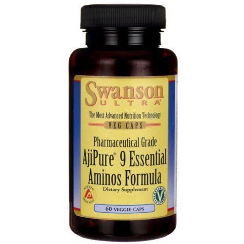 Ajipure kompleks 9 aminokwasów 60kaps marki Swanson