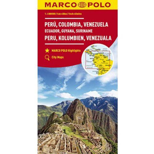 MARCO POLO Kontinentalkarte Peru, Kolumbien, Venezuela 1:4 000 000 (9783829739368)