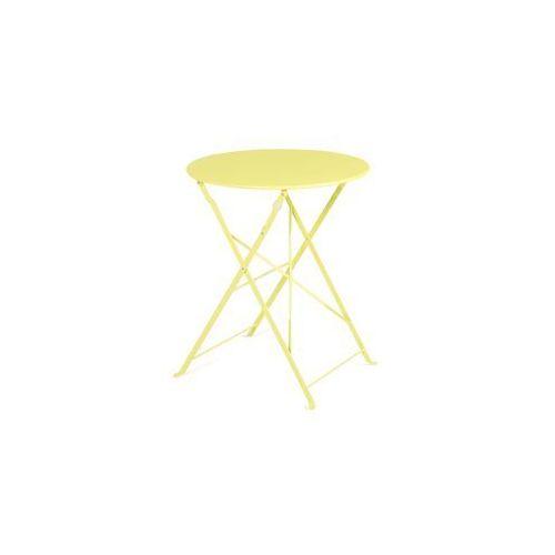 Meble ogrodowe limonkowe 2 krzesła FIORI (4260586354430)