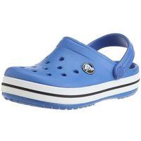 Crocs Crocband Kids Sea Blue Niebieskie klapki dla dzieci Różne rozmiary