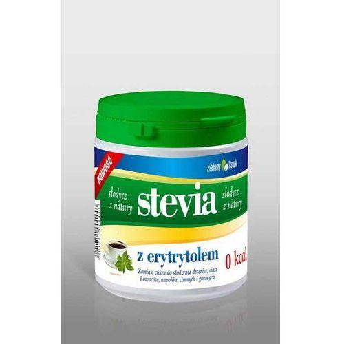 Zielony listek Słodzik z erytrytolem 140 g stevia