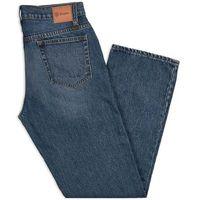 spodnie BRIXTON - Labor 5-Pkt Denim Pant Worn Indigo (WNIDG) rozmiar: 34X34, jeansy