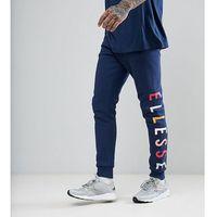 Ellesse Joggers With Large Logo - Navy, kolor szary